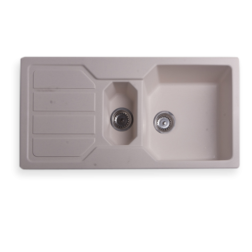 Niagara 1 medencés mosogató + mosó + szárító 100x50 cm N111