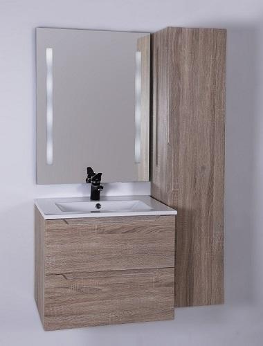 HB Elit 60 cm komplett bútor, Sonoma tölgy