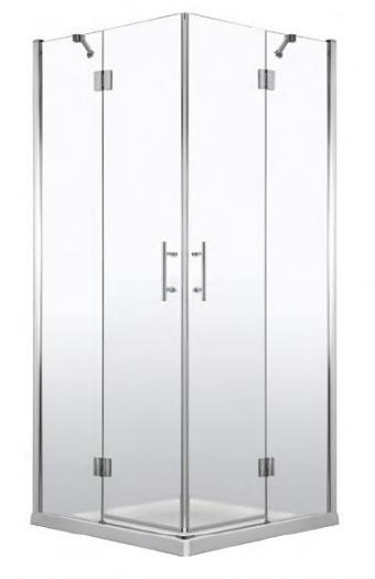 Deante Abelia szögletes zuhanykabin 100x100 cm