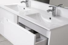 HB Elit 120 cm komplett bútor, Fehér