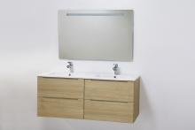 HB Elit 120 cm komplett bútor, Sonoma tölgy