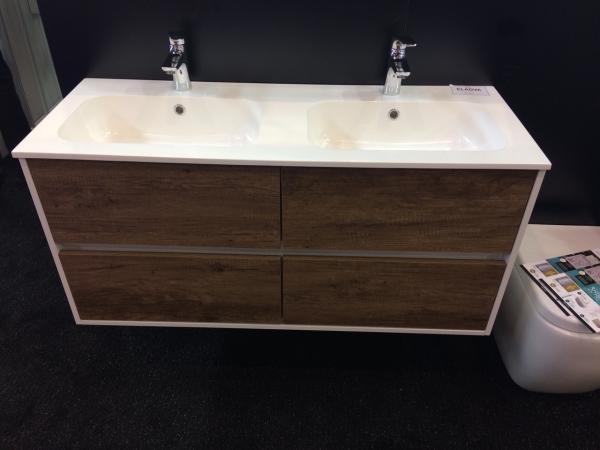 Wellis Ginger 120 alsó fürdőszoba bútor