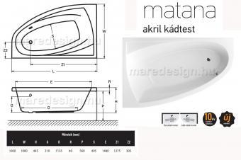 Wellis Matana E-Max 160 csaptelep nélkül JOBBOS WK00173