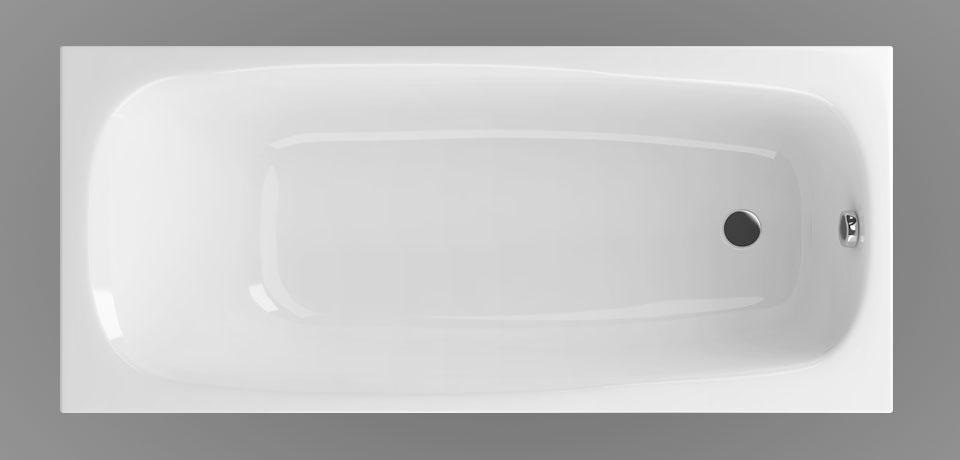 Wellis Como egyenes akril kád 180x80 cm AK00561