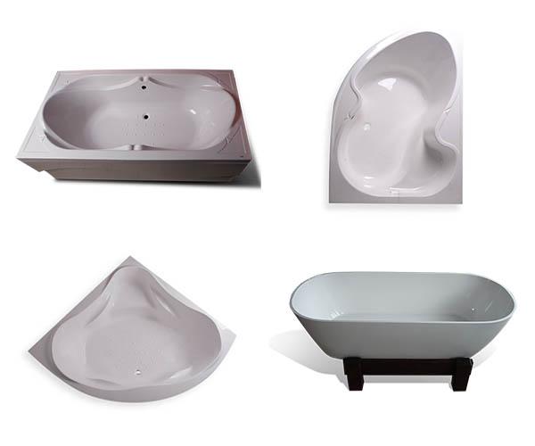Összes öntött márvány fürdőkád