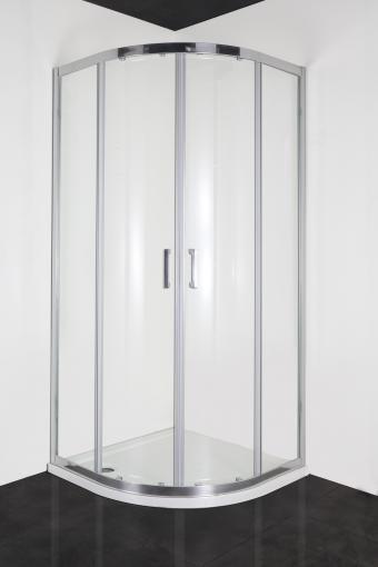 Sanotechnik ELITE sarokkabin 2 tolóajtóval 80x80cm R80