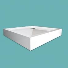 Wellis szögletes magas zuhanytálca 80x80x15 cm WC00525
