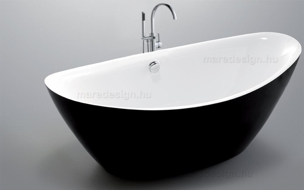 Wellis Arezzo Black Matt térkád 180x87x65 cm