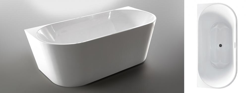 Wellis Calabria White Matt térkád 170x80x58 cm