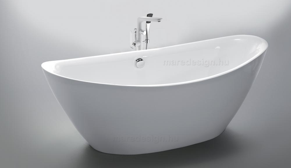 Arezzo White térkád 180x87 cm + Rundo Solo csap