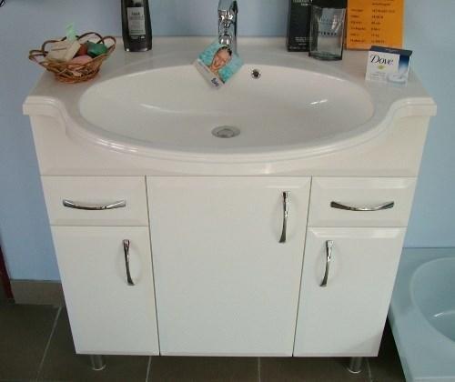 Ciprus 80 cm komplett fürdőszoba bútor