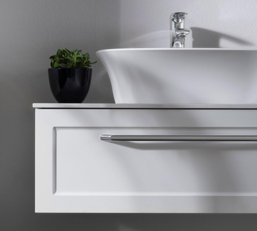 Kolpa san Blanche 110 alsó bútor Kerrok pulttal fehér mosdóval