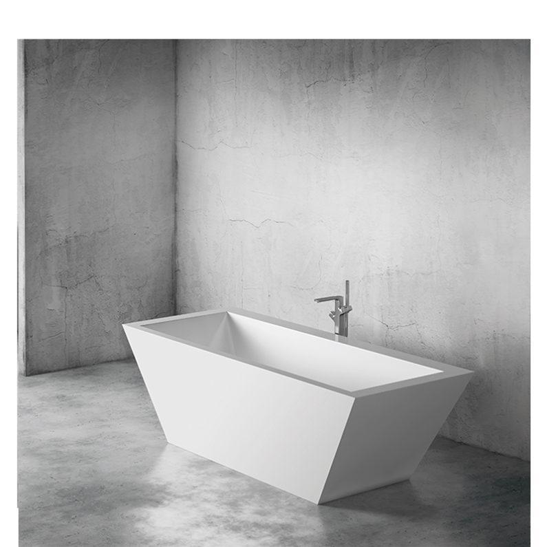 Tebe III 180x73 fürdőkád - Szabadon álló fürdőkádak - Öntött márvány kád rendelés -