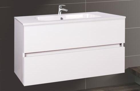 Wellis Elois White 80 alsó fürdőszoba bútor