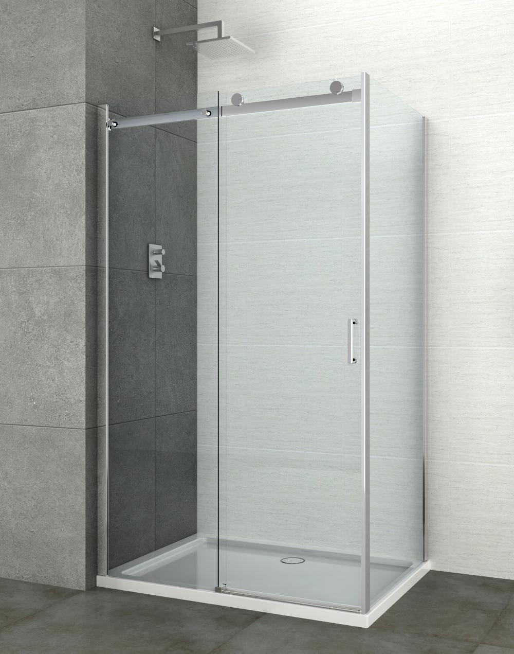 Sanotechnik N6120U szögletes zuhanykabin 120x80 cm