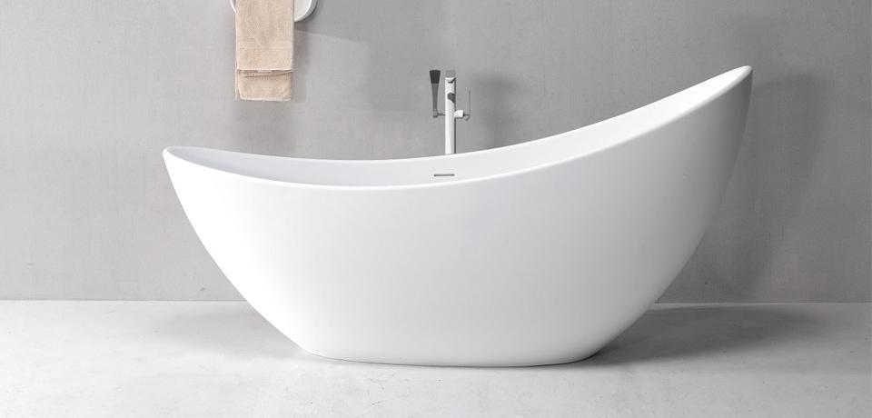 Wellis Accord White Matt térkád 190x77x95 cm