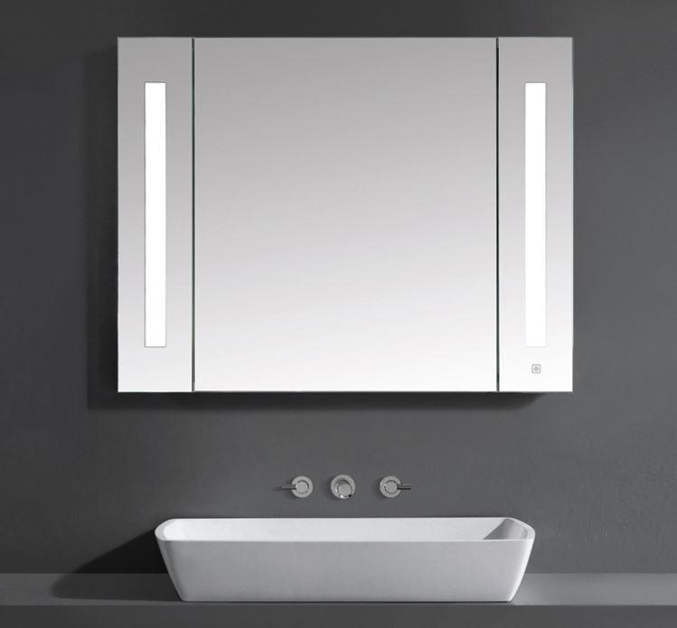 Wellis Canaria tükrösszekrény LED világítással 80 cm