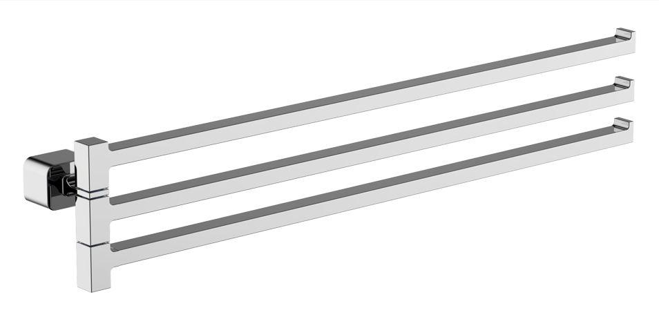 Wellis Capri tripla karos törölközőtartó WE00127