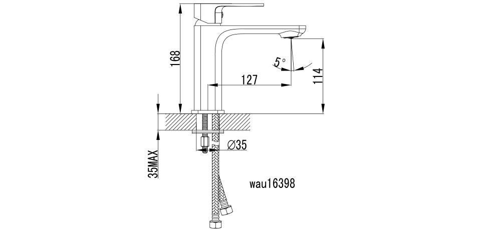 Wellis Cosmo mosdó csaptelep ACS0202