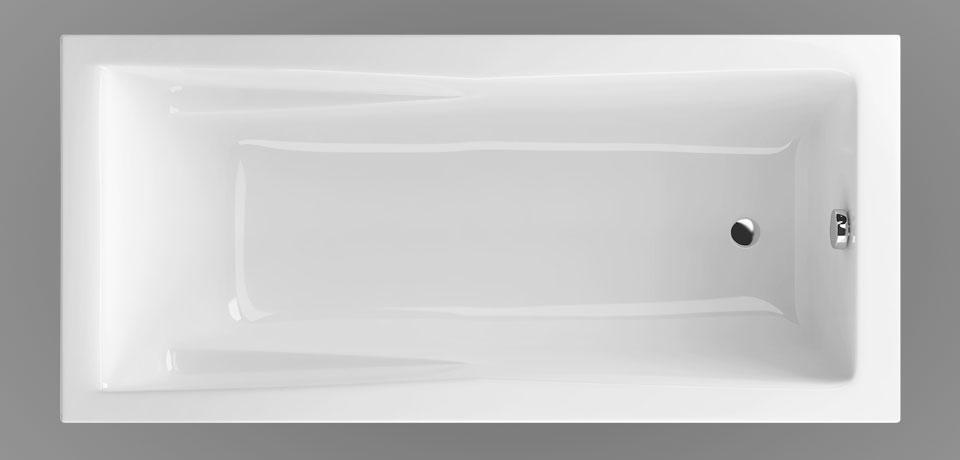 Wellis Huron egyenes akril kád 160x75 cm AK00564