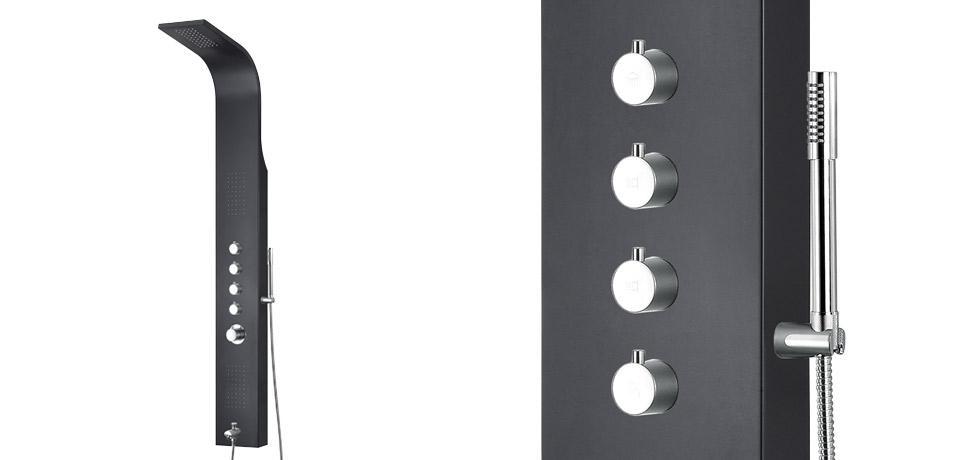 Wellis Mariner Black zuhanypanel WZ00102