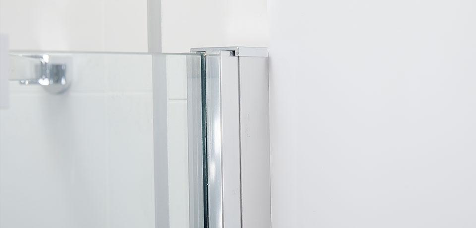 Wellis Pure nyílóajtós zuhanyfal 100x190 cm