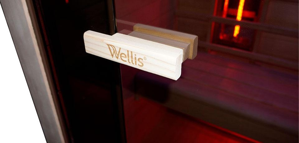 Wellis Solaris hemlock szauna WS00162