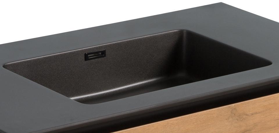 Wellis Tenebra 90 komplett fürdőszoba bútor