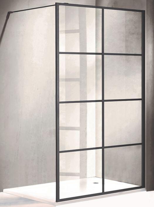 Wellis Tino walk-in zuhanyfal 120 x 195 cm