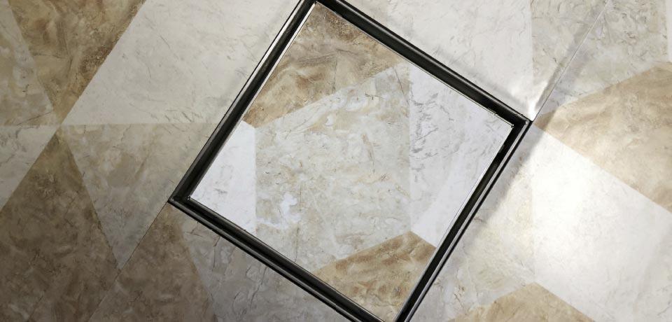 Wellis W-Drain folyóka - Flat 15x15 cm WE00102