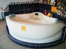 Calypso 140x140 fürdőkád