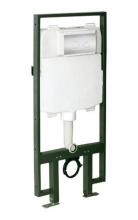 Wellis Clarice falsík mögötti WC tartály Round nyomólappal  EE00279