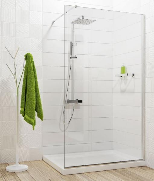 Deante Abelia Walk-in zuhanyfal 110 x 200 cm