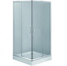 Deante Funkia 80x80 cm szögletes zuhanykabin akril tálcával
