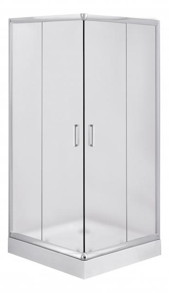 Deante Funkia 80x80 cm szögletes zuhanykabin (tálca nélkül)