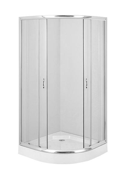 Deante Funkia 90x90 cm íves zuhanykabin (tálca nélkül)