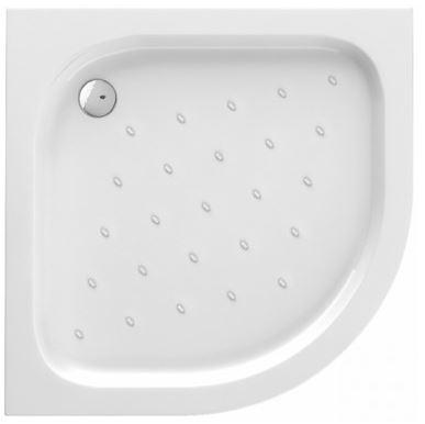 Deante Funkia íves zuhanytálca 80x80x16 cm