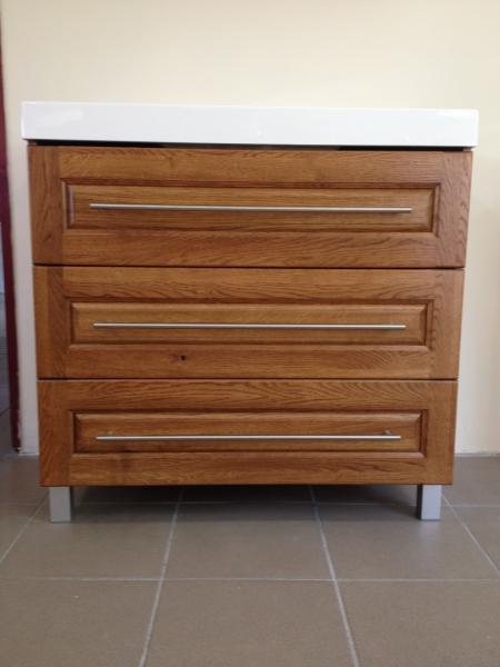 Evita 85 cm-es tölgyfa komplett bútor