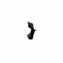 Fama fürdőkád láb fekete