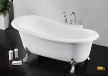 Fama fürdőkád láb króm