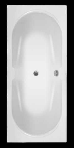 GilaxSpa Normandia Duo 170x75 fürdőkád