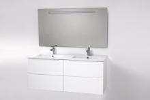 HB Elit 120 cm alsóbútor mosdóval, Fehér
