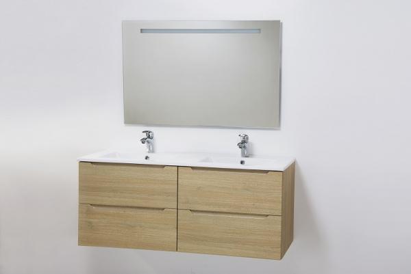 HB Elit 120 cm alsóbútor mosdóval, Sonoma tölgy