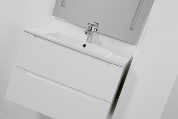 HB Elit 60 cm alsóbútor mosdóval, Fehér
