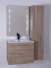 HB Elit 60 cm alsóbútor mosdóval, Sonoma tölgy