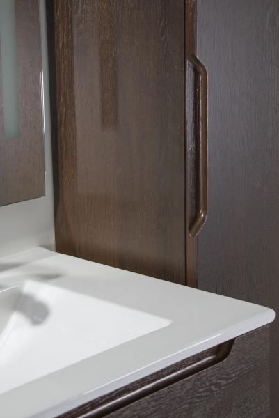HB Elit függesztett fali szekrény, Sötét dió