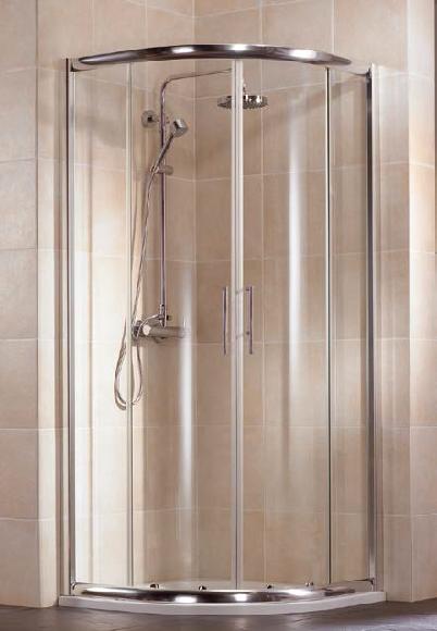 HSK Imperial negyedköríves zuhanykabin 90x90x185cm
