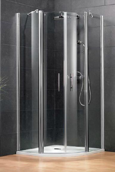 HSK New Style negyedköríves zuhanykabin 80 cm
