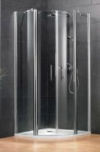HSK New Style negyedköríves zuhanykabin 90 cm