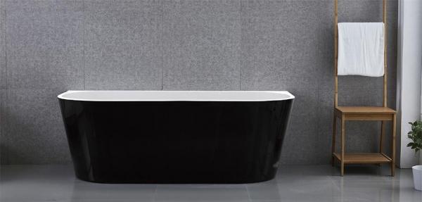 Wellis Calabria Black térkád 170x80x58 cm